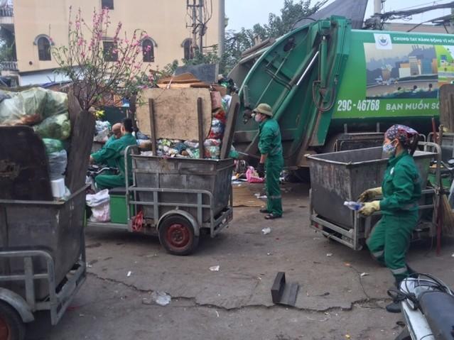 xe điện chở rác 5