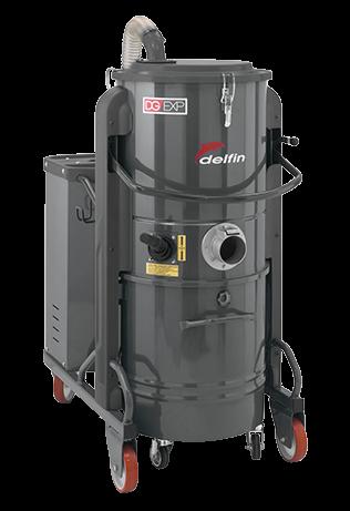 Máy hút bụi công nghiệp DELFIN DG 30 - 50 - 70 EXP