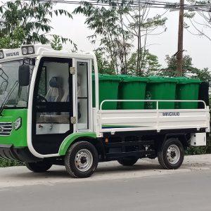 Xe điện 4 bánh chở thùng rác Magnum H82