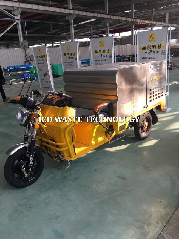 Xe phun nước rửa đường áp lực cao K11