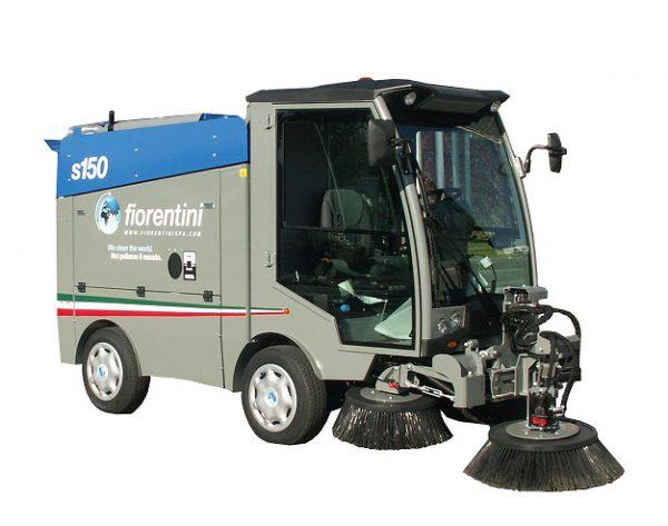 Xe quét rác hút bụi đường phố đô thị FIORENTINI S150