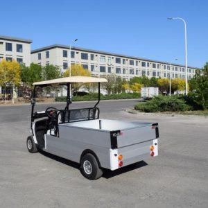 Xe điện 4 bánh chở hàng thùng lửng