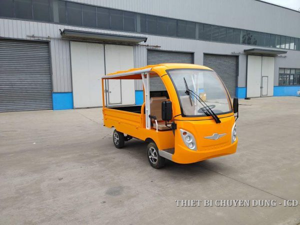 Xe điện 4 bánh chở hàng khu công nghiệp từ 1-2 tấn