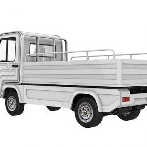 Xe điện chở hàng thùng lửng tải trọng 1 tấn EG6023H01