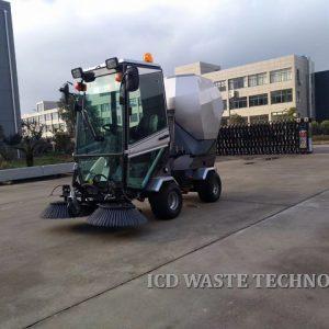 Xe quét rác đường phố, khu đô thị F2000 (máy dầu)