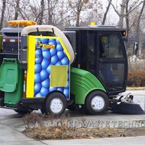 Xe quét rác hút bụi đô thị dung tích 240L chạy dầu